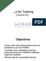 Module 6 2 Training Users on HINARI English 2011 04 (1)