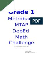Grade 1 Mtap Reviewer