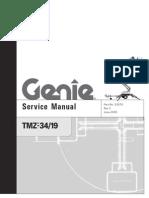 Genie TMZ-34 19 Service Manual