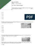 Atividade II - Teorema de Tales