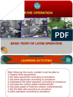 Lathe Operation OK