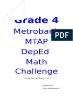Grade 4 Mtap Reviewer
