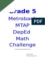 Grade 5 Mtap Reviewer