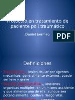 Protocolo en Tratamiento de Paciente Poli Traumático