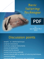 Basic Suturing Principles 2013