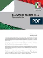 Plataforma Electoral a Diputados Locales
