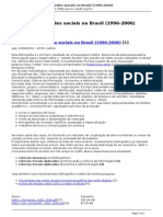 NUPEF RITS (2006) Estudos Sobre Redes Sociais No Brasil (1996-2006) Apresentação