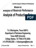 Analysis of Production Data - p663 03c Arp Lec 03 Wpa (031127)
