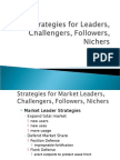 Designing Competitive Strategies for Leaders