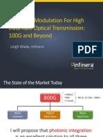 Infinera 100G Beyond Wade