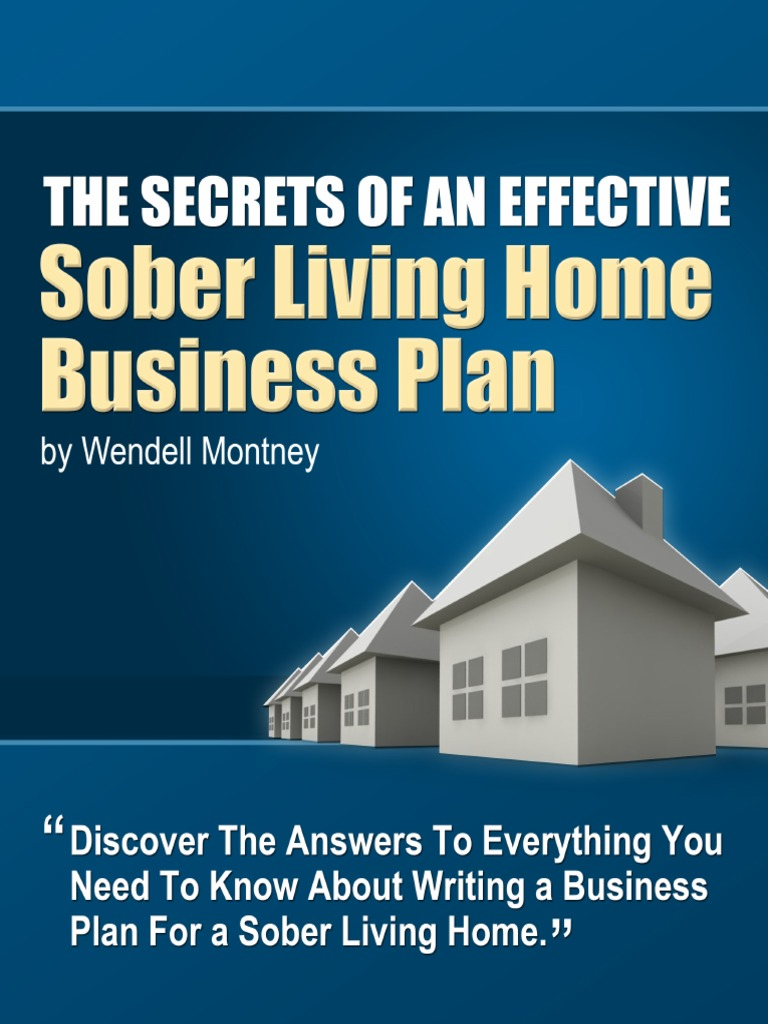 sober living home business plan | limited liability company | s