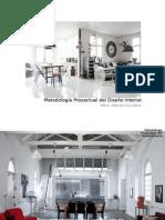 Metodología Del Proyecto de Interiores