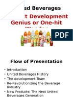 United Beverages ppt