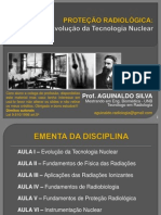 Proteção Radiológica - Evolução Da Tecnologia Nuclear