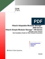 Hitachi Adaptable Modular Storage 2000 Series