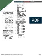 Ssc Fci Grade II Exam Paper i Solved Question Paper
