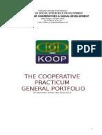 Cooperative Practicum Portfolio
