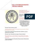 Randuiala Dumnezeiestii Proscomidii