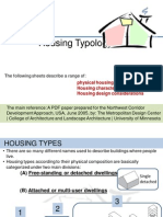 Lecture 8 Housing Typology 2