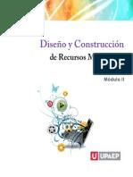 UPAEP - DISEÑO Y CONSTRUCCION DE RECURSOS MULTIMEDIA