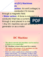 DC Machines and DC Motor