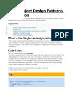 ABAP Object Design Patterns – Singleton