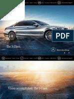 Mercedes S Class 2015 e-brochure