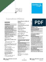 Cuadro Médico Madrid 8-2014-Especialistas