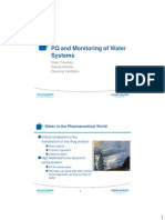 PQ and Monitoring Water Systems