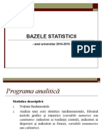 Curs Bazele Statisticii Partea I 2015