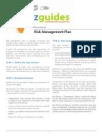 Bizguide Insurance Risk Management Plan