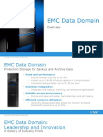 EMC Data Domain Technical Overview