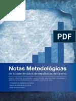 2012 Notas Metodologicas Turismo OMT