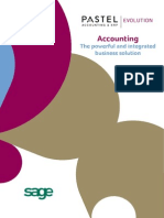 Sage Evolution Accounting Brochure