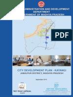 CDP Katangi Jabalpur English