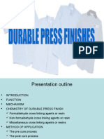 Durable Press Finishes