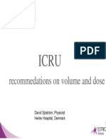 ICRU Recommendations