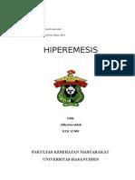 Makalah Hiperemesis