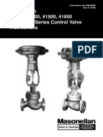 Masoneilan 41300 Control Valve Instructions