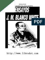 José María Blanco White.  Ensayos