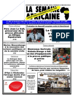 La Semaine Africaine Vendredi 27 Mars 2015 3481