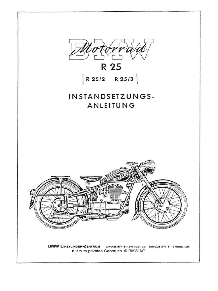 Bmw r25 manual