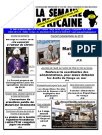La Semaine Africaine Mardi 24 Mars 2015 3480