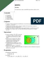 Álgebra de Conjuntos - Wikipedia, La Enciclopedia