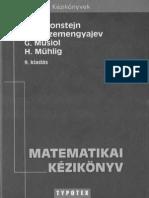 Bronstejn - Matematikai Kézikönyv, 9. Kiadás