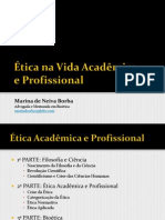 Ética na Vida Acadêmica e Profissional