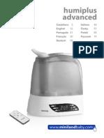 Увлажнитель - ионизатор воздуха с функцией очищения воздуха Miniland Humiplus Advanced