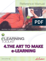 The Art to Make E-learning