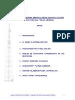 Medidas de Niveles Radioeléctricos en Castilla y León