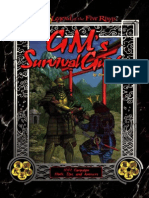 L5R 1 ed GM's Survival Guide